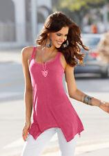 Zipfel-Long-Top, Laura Scott, pink. NEU!!! KP 34,99 € %SALE%