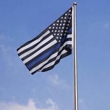 American Blue Stripe Police Flag Decal Sticker USA Police Lives Matter SG