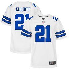 Ezekiel Elliott Dallas Cowboys Nike Youth Game Jersey - White