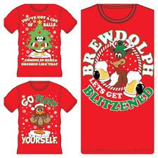 Mens Womens Adult Christmas Bah Humbug Humourus Funny Rude Sarcastic T Shirt Top