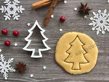 Tree Xmas Cookie Cutter 02 | Christmas | Fondant Cake Decorating | UK Seller