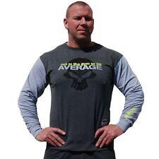 Brachial Longsleeve Truly Grau Grey Bodybuilding Fitness