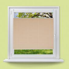 Plisado para ventanas tamaño según su deseo color crema + material de montaje