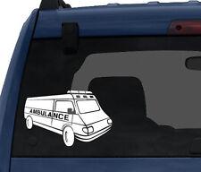 Medical #1- Ambulance Emergency Medical Care Paramedic - Car Tablet Vinyl Decal