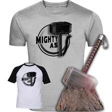 Mighty come THOR Ispirato T-shirt originale RARO DESIGN screenprinted Avengers