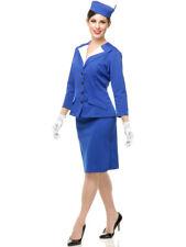 Adult Women's Sexy 50s Pan Am Patty Sexy Stewardess Costume