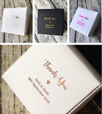 20x Rose gold foil paper wedding favour boxes Party Cookie Candy Soap Bomboniere