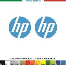 KIT 2 ADESIVI HP LOGO mm.50x50 - STICKERS AUFKLEBER PEGATINAS DECALS MOTO2