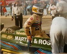 CARLOS REUTEMANN Martini Racing Team Lotus WATKINS GLEN F1 8 X 10 PHOTO