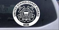 United States Coast Guard Mom Car or Truck Window Laptop Decal Sticker