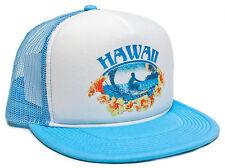 Retro Vintage Hawaii Surfer Hawaiian Surfing Distressed Logo Hat Cap Snap Back