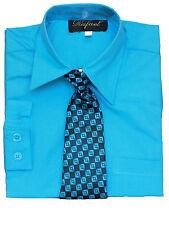 Boys Party, Recital, Long Sleeve Color dress shirt, Size: 2T,3T,4T
