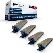 4x Kompatible Tonerkartuschen für OKI 43837105-43837108 Set XL-Drucker Pro Serie
