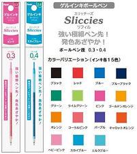 Pentel Sliccies Multi Pen Refill CHOOSE15 COLOR 0.3 0.4 0.5 mm Mechanical Pencil