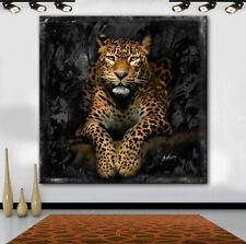 Bilder Wandbild Keilrahmen Leinwand Kunstdruck Tiere Leopard Afrika Art.609950