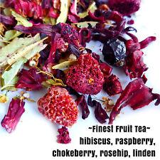Hibiscus, Linden, Framboise, Cynorrhodon, Aronie à fruits Loose Leaf Finest Tea