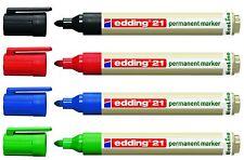 edding 21 EcoLine Permanentmarker Rundspitze 1,5 - 3mm Farbe wählbar