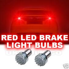 24 led doppio filamento LED ROSSO Stop / Tail LAMPADINE SQUADRE BAY15D P21 / 5 W 380 x 2