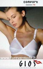 Mujer sujetador Gios,algodón elástico entrecruzados con las tazas bautizado como