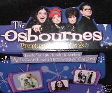 THE OSBOURNES - COMPLETE 72 CARD BASE SET