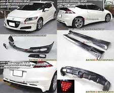 Mu-gen Style Full Lip Kit (ABS) Fits 11-12 CR-Z 2dr