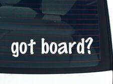 got board? GAME GAMES FUNNY DECAL STICKER ART WALL CAR CUTE
