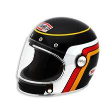 Ducati Bell codificador Black track casco integral casco Helmet negro nuevo!!!