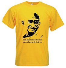 Gandhi filosofía política de paz Camiseta Talla S-XXXL