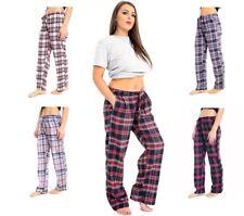 Nuevo Damas Mujeres Suave Algodón Pijamas Salón Pantalones Pantalones Pantalones Ropa de noche