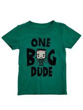 Universal Studios Monsters Infant & Toddler Boys Green Halloween Shirt