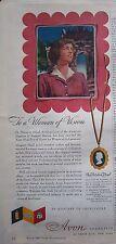 1946 Avon Perfume Cosmetics Dr. Margaret Mead Anthropologist Ad