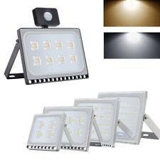 LED Flood Light 10W 20W 30W 50W 100W 150W 200W 500W 1000W PIR Motion Sensor lamp