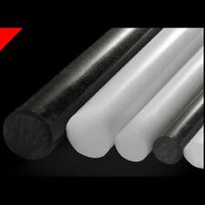 5-15mm Acetal Rod Black White Engineering Nylon Plastic Round Bar Billet Spacer