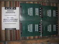 2004 DODGE STRATUS SEDAN & CONVERTIBLE Service Repair Shop Manual Set FACTORY