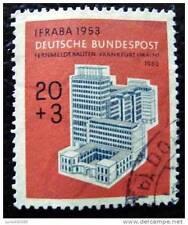 ALLEMAGNE RFA - timbre - yvert et tellier n°58 obl - stamp germany