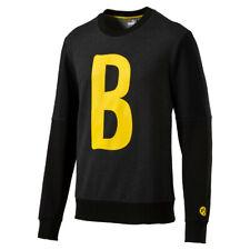 PUMA BVB BORUSSIA graphique B Sweat Hommes Pull Dortmund 09 Gris 750125 03