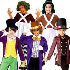 Charlie & la fabbrica di cioccolato Ragazzi Costume Libro carattere Costume Bambini