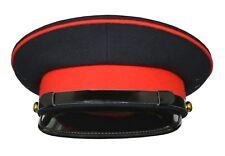 BRITISH ARMY OFFICER'S GENERAL STAFF SERVICE No 1 & No 2 MILITARY PEAK CAP HAT