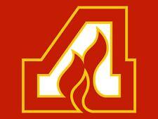 Atlanta Flames NHL Hockey Embroidered Adult T-Shirt S-6XL, LT-4XLT Calgary New