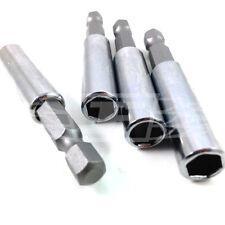 """MAGNETIC DRILL BIT HOLDER - 60mm LENGTH - 1/4"""" SHANK - PHILIPS - POZI - TORX"""