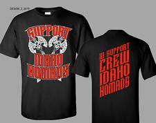 DOUBLE AX Support Idaho 81 Hells Angels T Shirt