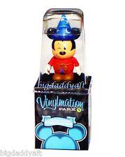 "New Disney Vinylmation Park 5 Mickey Sorcerer 3"" Combo Figure Set"