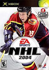 NHL 2004: X-BOX VIDEOGAME,  Xbox, xbox Video Game