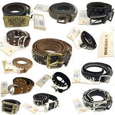 DIESEL Damen Jeans Ledergürtel / Echtleder Gürtel / Designer women leather belt