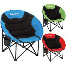 KINGCAMP MoonChair XL Camping Klapp Stuhl Falt Sessel Garten Angel Outdoor 120kg