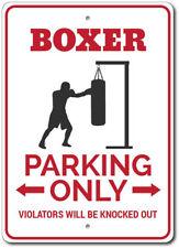 Boxer Gift, Boxer Parking Sign, Boxer Decor, Boxer Man Cave Sign ENSA1002840