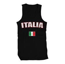 Italy Italia Repubblica Italiana Republic Rome Flag Pride Mens Tank Top