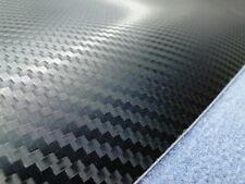 3D Pellicola in carbonio Auto Struttura in lamiera nero 750mm x 500mm universale