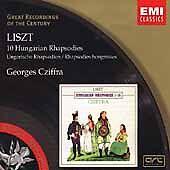 Liszt: 10 Hungarian Rhapsodies (CD, Apr-2001, EMI Music Distribution)(cd4793)