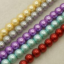 Glaswachsperlen 10mm Farbauswahl 20 Stück